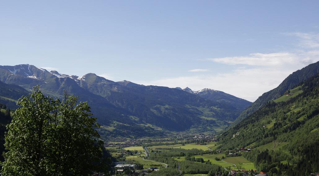 Chalet in Österreich Blick Bad Gastein