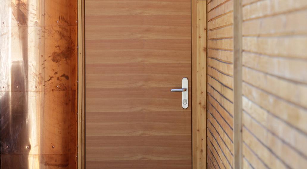 Alpenchalet Tür