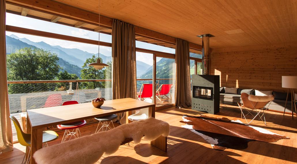 Alpenchalet alpenloft tessa for Inneneinrichter wien